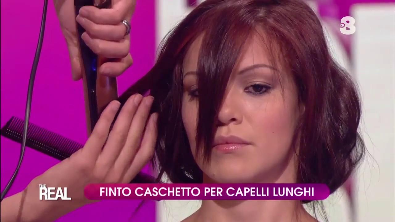 Taglio capelli finto caschetto