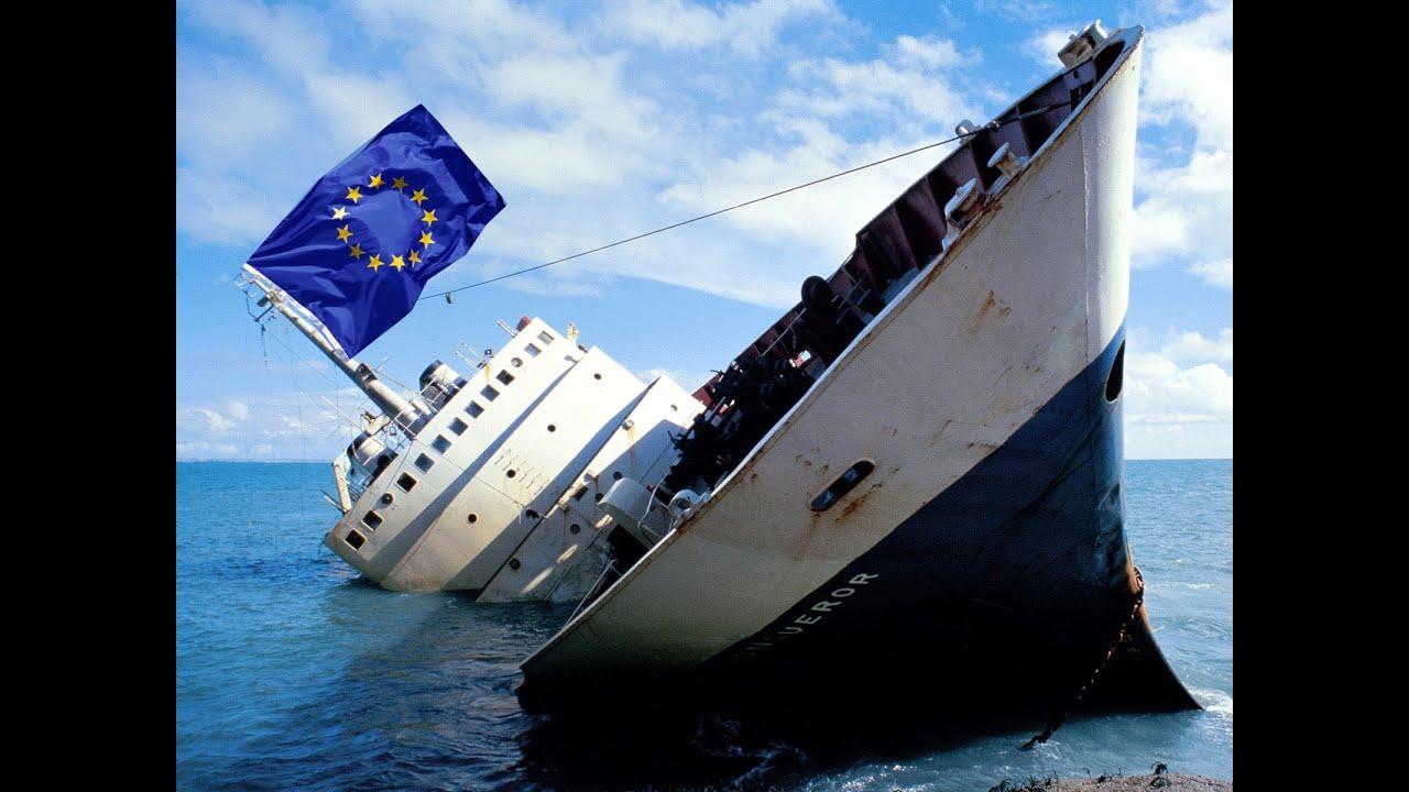 Znalezione obrazy dla zapytania upadająca UE