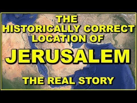 Palestine Pay Attention : The True Location Of Israel And Jerusalem