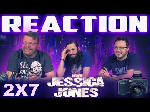 """Jessica Jones 2x7 REACTION!! """"AKA I Want Your Cray Cray"""""""