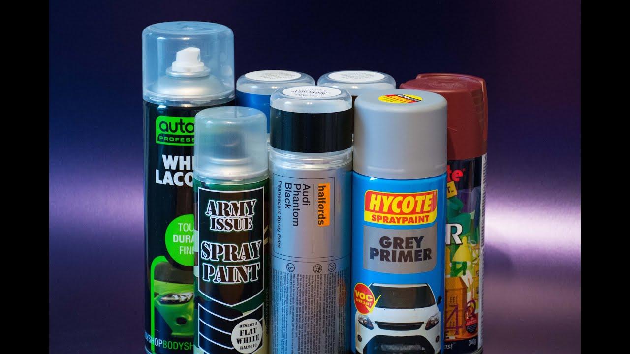 Car paint colour - New Paint Additions Including Halfords Car Colours Hycote Primer And Plastikote Colour