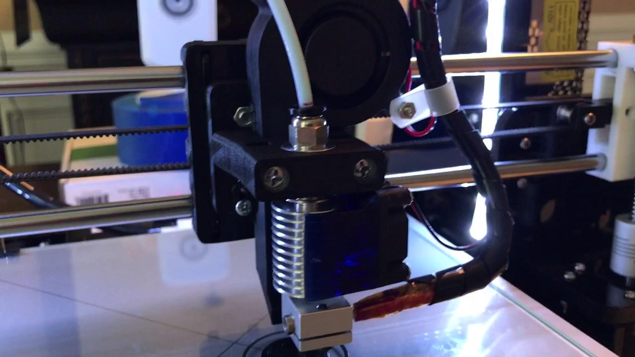 3d Printer Filament >> Anet A8 E3D V6 clone and Bowden setup. - YouTube