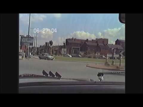 No.4  Dashcam 1985 Style.       A Drive Around Castleford...10.8.85