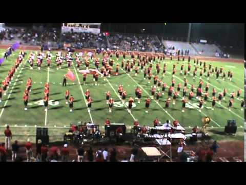 Vero Beach H S Fighting Indians Band Halftime Show 8 21 2017