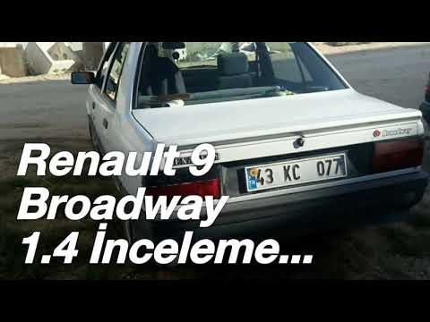 Renault 9 Brodway 1.4 İnceleme...