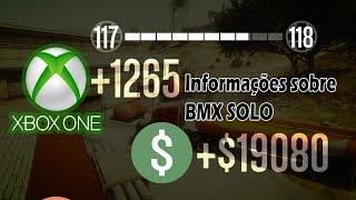 GTA 5 DINHEIRO/RP INFINITO SOLO + INFOR. SOBRE BMX SOLO NO COMPLEXO XBOX ONE MONEY GLITCH 1.43