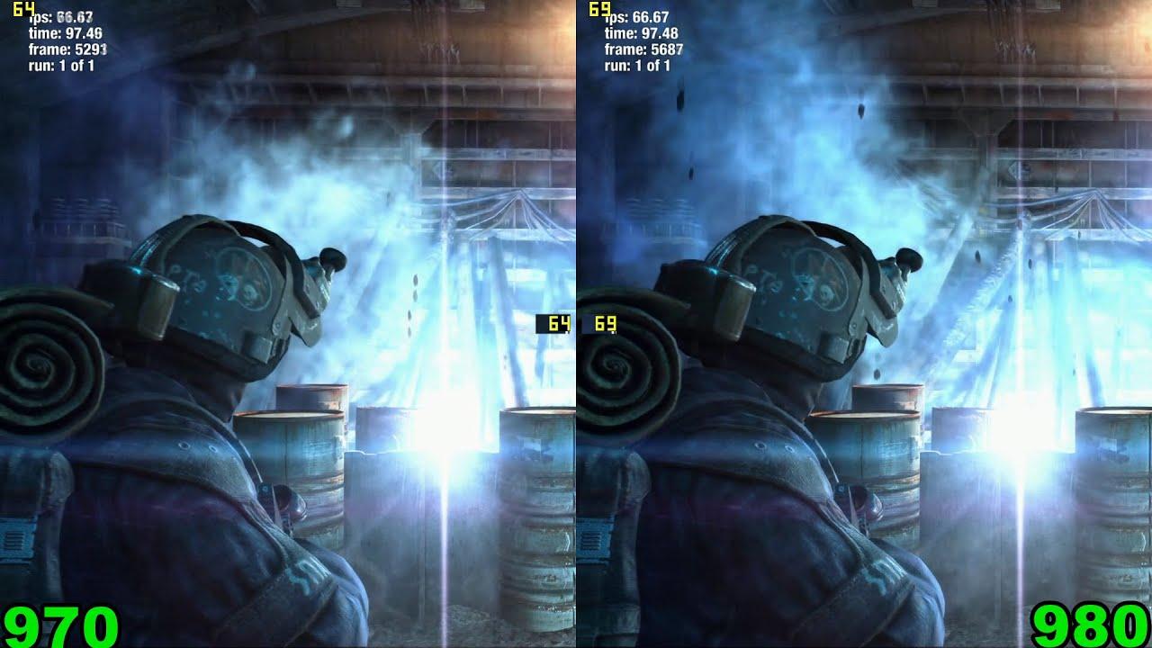 Тест: GTX 970 против GTX 980 в 9 играх (i5 4690K@4,8).