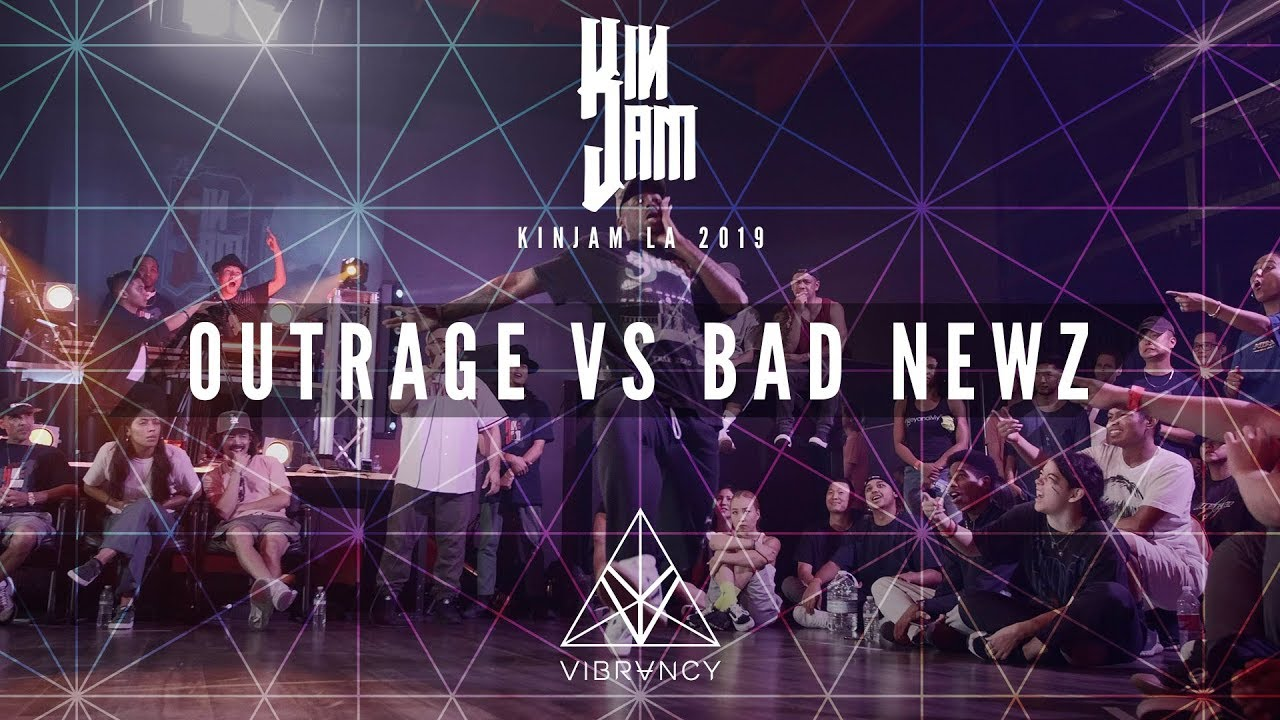 Outrage Vs Bad Newz [QUARTER FINALS] | KINjam LA 2019 [@VIBRVNCY 4K]