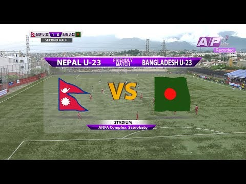 Nepal U23 vs Bangladesh U23 - Full match (Friendly)