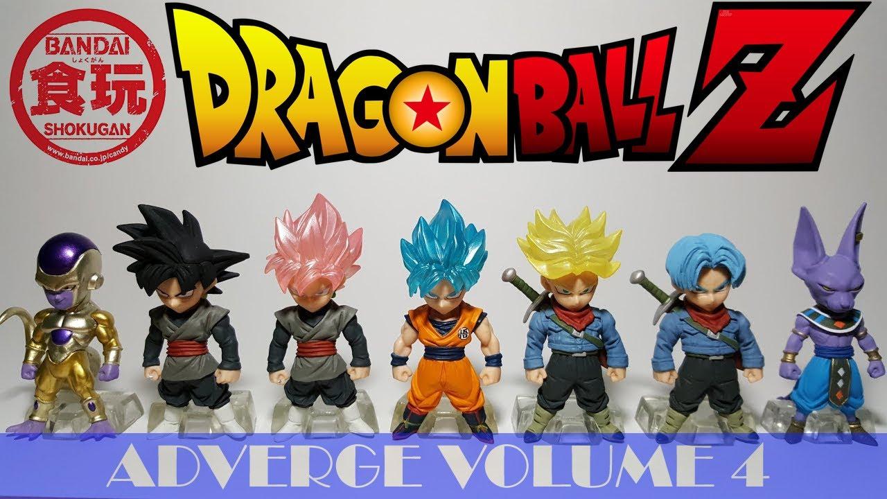 Super Dragon Ball Heroes Adverge 2 Set of 6 figures Bandai Japan New***
