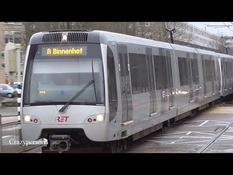 Metro in Capelle, Oosterflank, Het Centrum & Meer in Rotterdam!