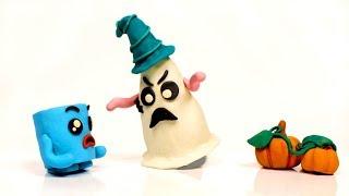 Funny Halloween Pranks💕 Play Doh Cartoons💕 Funny Marshmallows