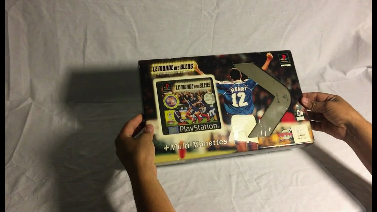 Unboxing PS1 - Le monde des bleu Multitap Edition PAL FR (1999)