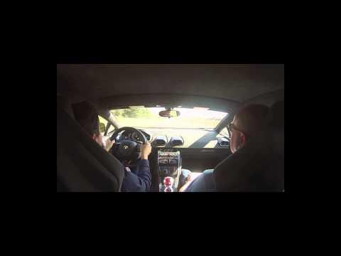 Essai Lamborghini Huracán sur circuit de Fay de Bretagne