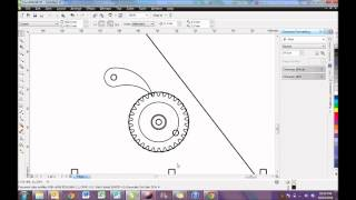 Uploading a DXF file to Corel Draw and editing to prepare for Laser Cutter