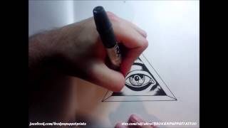 How to Draw an All Seeing Eye By thebrokenpuppet(Hey people back again this time its how to draw an all seeing eye or illuminati eye. Enjoy!, 2015-02-10T19:00:01.000Z)