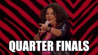 Vicki Barbolak America's Got Talent 2018 Quarter Finals|GTF