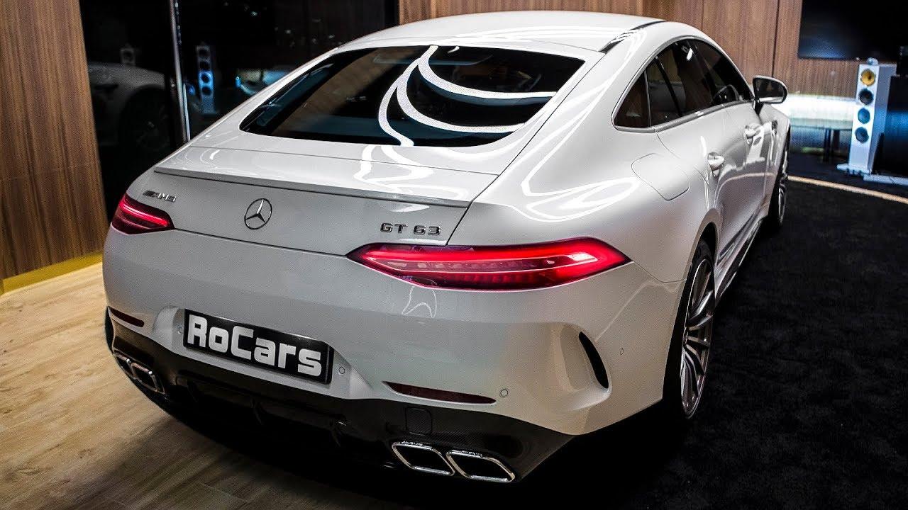Mercedes-AMG GT 63 4MATIC+ (2019) - Wild 4-Door Coupe!