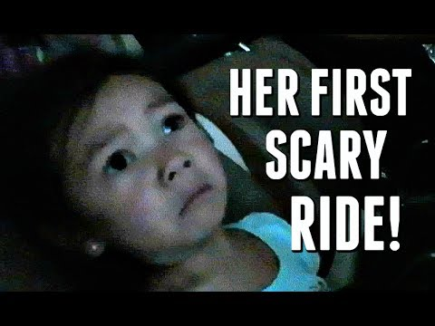 HER FIRST SCARY BIG KID RIDE! - June 11, 2017 -  ItsJudysLife Vlogs thumbnail