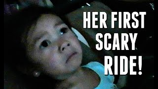 HER FIRST SCARY BIG KID RIDE! - June 11, 2017 -  ItsJudysLife Vlogs