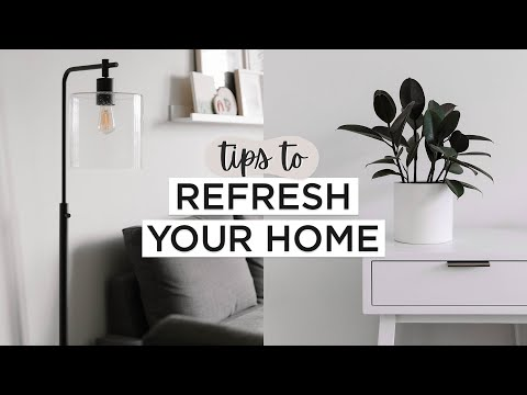 Easy Ways To REFRESH Your Home WITHOUT Buying Anything (OR Adding Clutter)