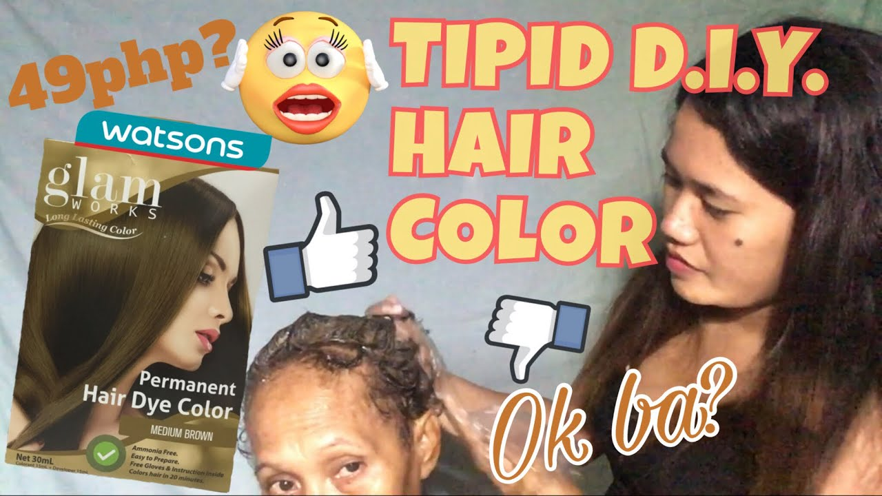 49php Hair Color From Watsons Ft Glam Works Jen Sioc