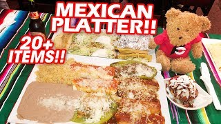 Most DELICIOUS Mexican Food Challenge EVER!!