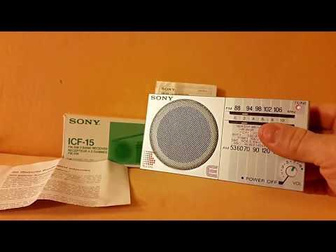 Radio Sony ICF-15