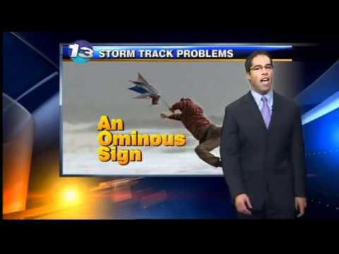 Mark Ronchetti KRQE Weather Forecast 2-21-12