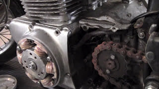 How to Remove a Motorcycle Engine