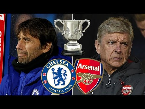Chelsea vs Arsenal 0-0 -  All Goals & HIGHLIGHTS 10/01/2018