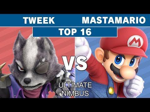 Ultimate Nimbus - TSM | Tweek (Wolf) VS MastaMario (Mario) Top 16 - Smash Ultimate thumbnail