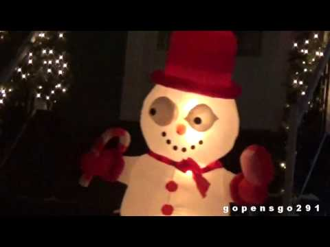 The official christmas lights tour 2016 PART 1
