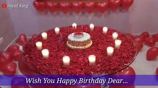 Happy birthday whatsapp status ❤💕 romantic shayari whatsapp status ❤💕