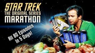 STAR TREK Original Series Marathon (80 Eps 5 Days)- Timelapse w/ Rankings