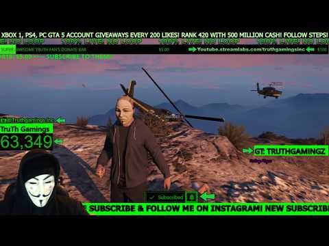 FREE GTA 5 Online Shout Outs! (Must Be Subscribed To Join Lobby)