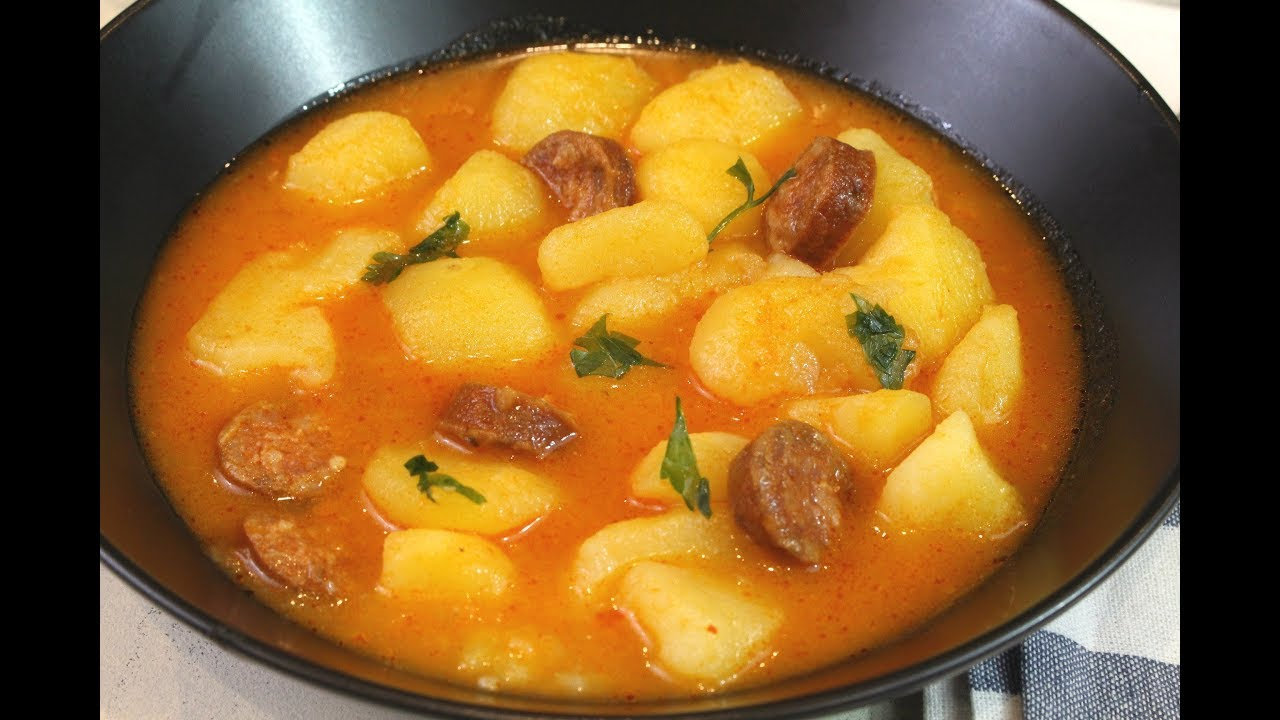 patatas a la riojana thermomix