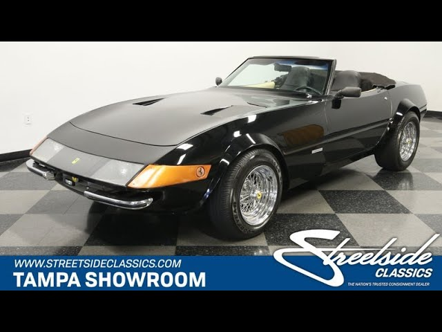 1980 Ferrari Daytona Replica For Sale 2535 Tpa Youtube