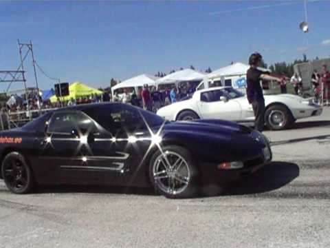 '04 Chevrolet Corvette C5 VS '78 Chevrolet Corvette Stingray C3 1/4mile drag race