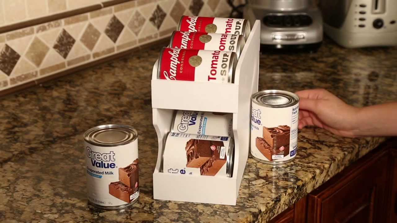 Features Of The Pantry Maid Can Organizers Youtube