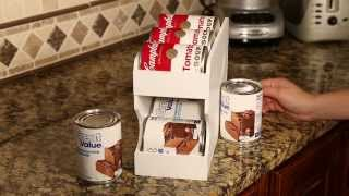 Features Of The Pantry Maid Can Organizers