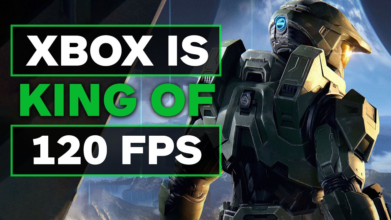 Xbox is King of Console 120 FPS Here's Why The PS5 Struggles
