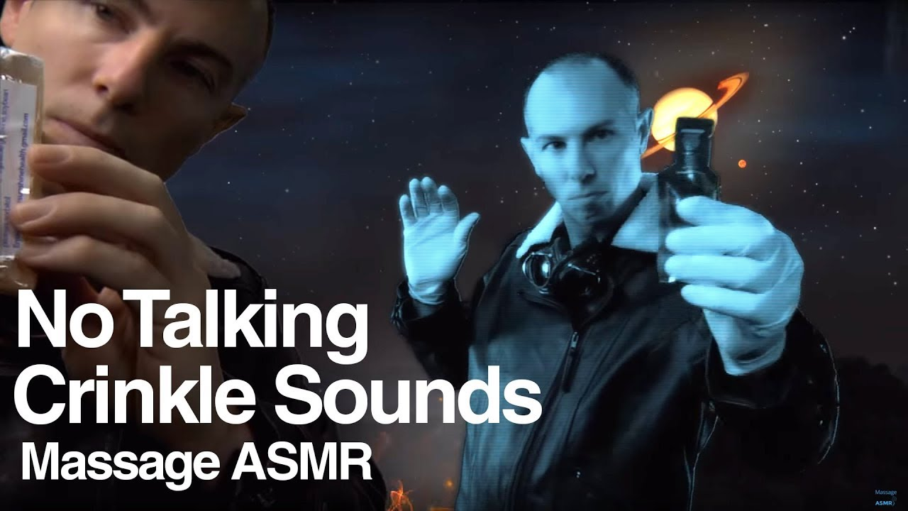 A Futuristic Holographic Crinkle Heaven 10.1 No Talking ASMR & Relaxation