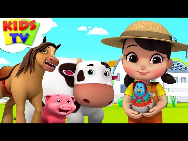 Old Macdonald Had A Farm | Boom Buddies Cartoons | Videos For Children - Kids TV