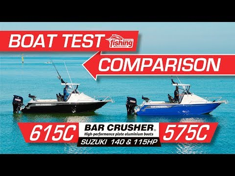 Tested | Bar Crusher 575C v 615C Comparison