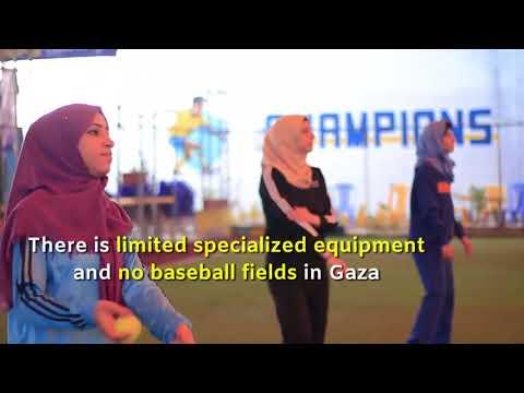 Women's baseball in Gaza
