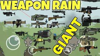 MINI MILITIA GIANT GUNS RAINS!! NEW LATEST TRENDY MOD