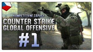 Counter Strike: Global Offensive - |#1| - Kompetitivní zápasy - Mirage! | Český Gameplay