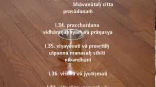 Yoga Sutra Chanting Tutorial Chapter I-Srivatsa Ramaswami