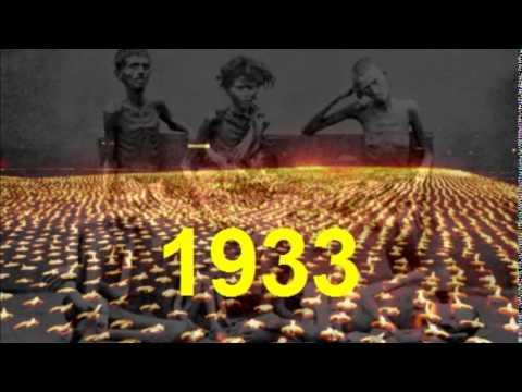 Memorial service for Holodomor victims 1932-1933 (in Ukrainian)